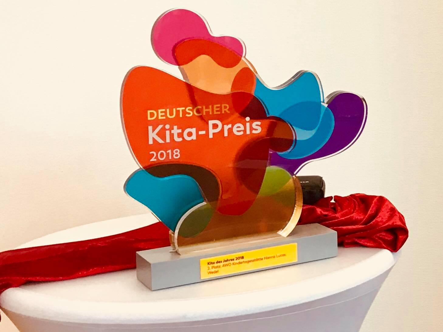Nina Schilling FDP Wedel Deutscher Kita Preis für AWO-Kita Hanna Lucas